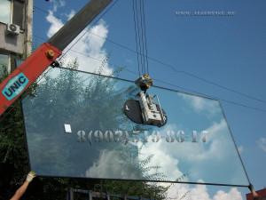 аренда вакуумной присоски(подъемника, захват) для стеклопакета, замена стеклопакета в фасадном остеклении, вакуумная присоска в аренду