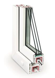 окна пластиковые (ПВХ) REHAU